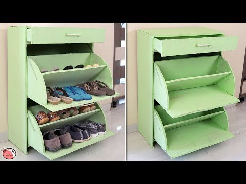 Creative !!! DIY Shoe Stand !!! How to Make Shoe Rack at Home