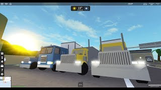 ROBLOX - NEW SEMIS & TRUCKS! (ULTIMATE DRIVING UPDATE PT. 2)