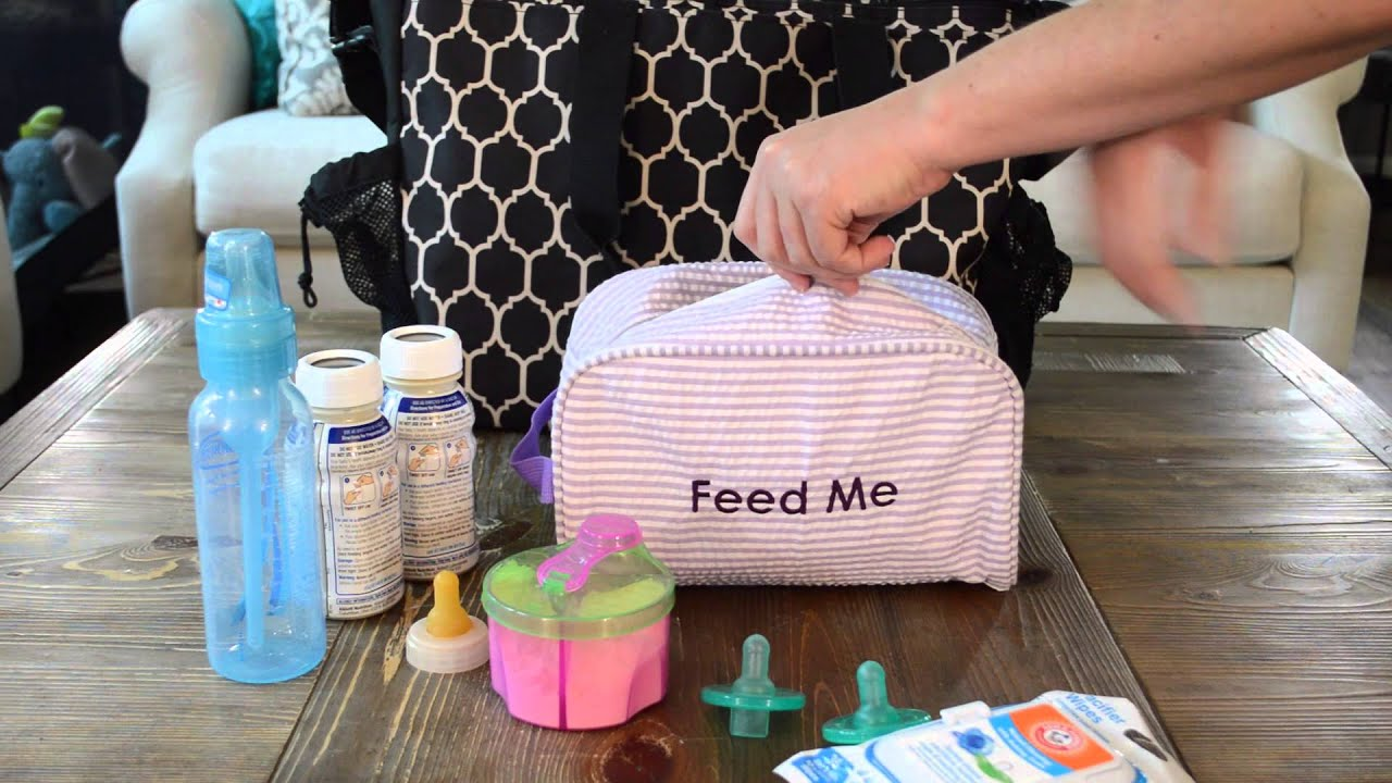 How To Organize A Diaper Bag Using Easy Baby