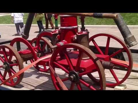 New Philadelphia fire station grand opening antique fire apparatus show