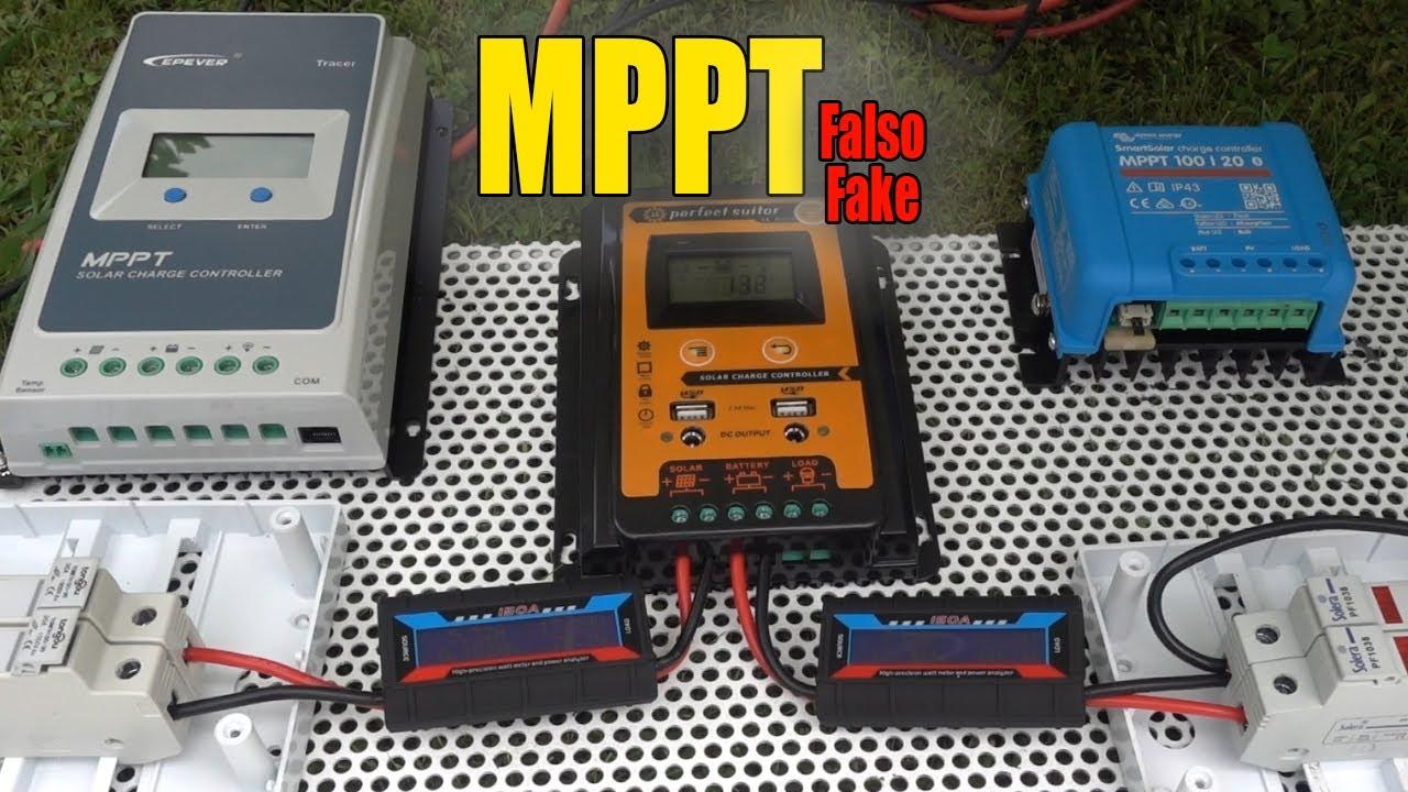 "Regulador solar MPPT ""Falso"""