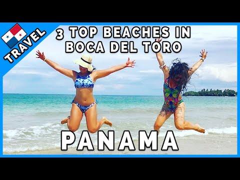 Best 3 Beaches In Bocas Del Toro - Panama (EN Subtitles)