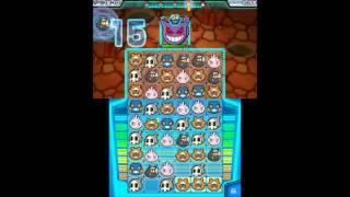 Pokemon Battle Trozei - 100% Walkthrough - Stage 6-3 (Pitch-Black Cavern) - S-Rank