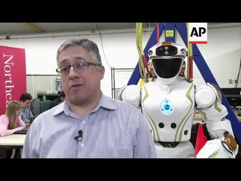 Humanoid robot prepares for life on Mars