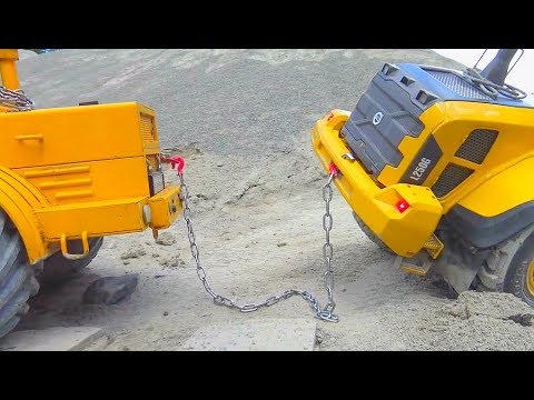 RC Accident! Volvo L250 in Danger! Cool rc Construction site! Amazing Vehicles!