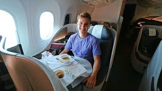 Qatar Airways 787 Business Class Review | World's Best Airline 2017