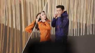 The Making of CF: TOP and Park Shin Hye for 밀레 2014 F W TVCF 가을편 메이킹필름