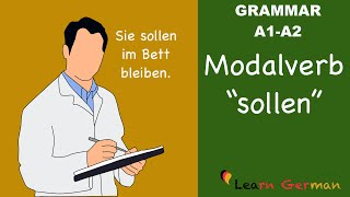 learn german   german grammar   sollen   modal verbs   modalverben   a1