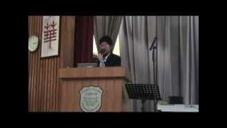 2011年5月13日 作家黃擎天先生講座 - 創意與生活