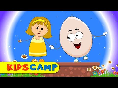 Humpty Dumpty Nursery Rhyme - Popular English Rhymes for Children