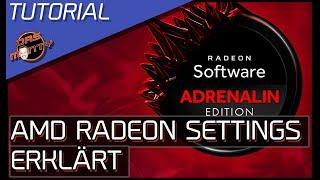 AMD RADEON ADRENALIN TREIBER - 3D-Einstellungen der Radeon-Grafikkarten erklärt | DasMonty - Deutsch