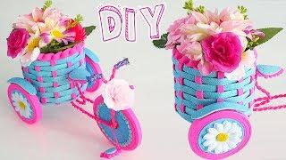 🌺🌹 Diy: Triciclo Floral Decoración PARA REGALAR || #SemanaDeRegalos 3🌹🌺