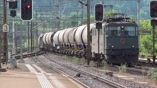 ► Trainspotting at the Limmattal marshalling yard [9.5.11] (Am 6/6, Ae 6/6, Re 6/6)