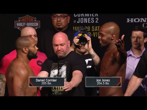 UFC 214 face-offs: One final Cormier and Jones stare down