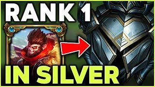 Download WHEN THE RANK 1 WUKONG WORLD VISITS SILVER ELO | EUW UNRANKED TO CHALLENGER #2 - League of Legends Mp3 and Videos