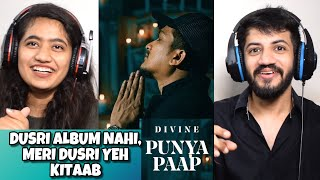 DIVINE - Punya Paap REACTION (Prod. By iLL Wayno) | The Tenth Staar