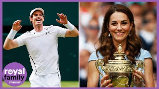 Duchess of Cambridge and Andy Murray Surprise Young Tennis Fans YouTube Videos