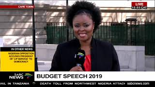 Countdown to Budget Speech 2019