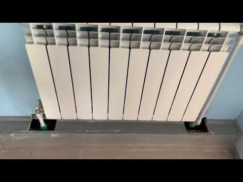 Установка радиаторов сталь-полипропилен
