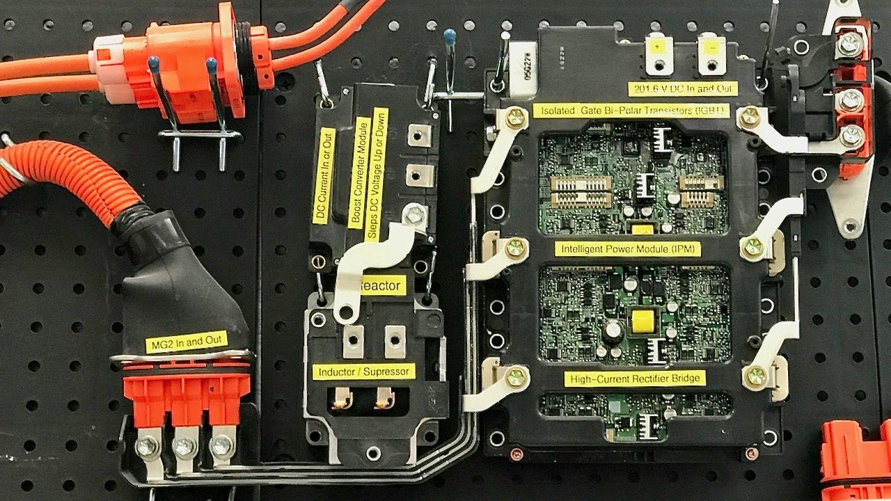 toyota prius 2nd gen high voltage system operation [ 1280 x 720 Pixel ]