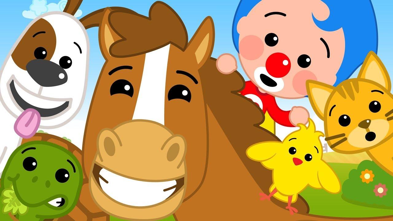 Como Los Animalitos ¡Nueva Canción de Plim Plim! | El Reino Infantil