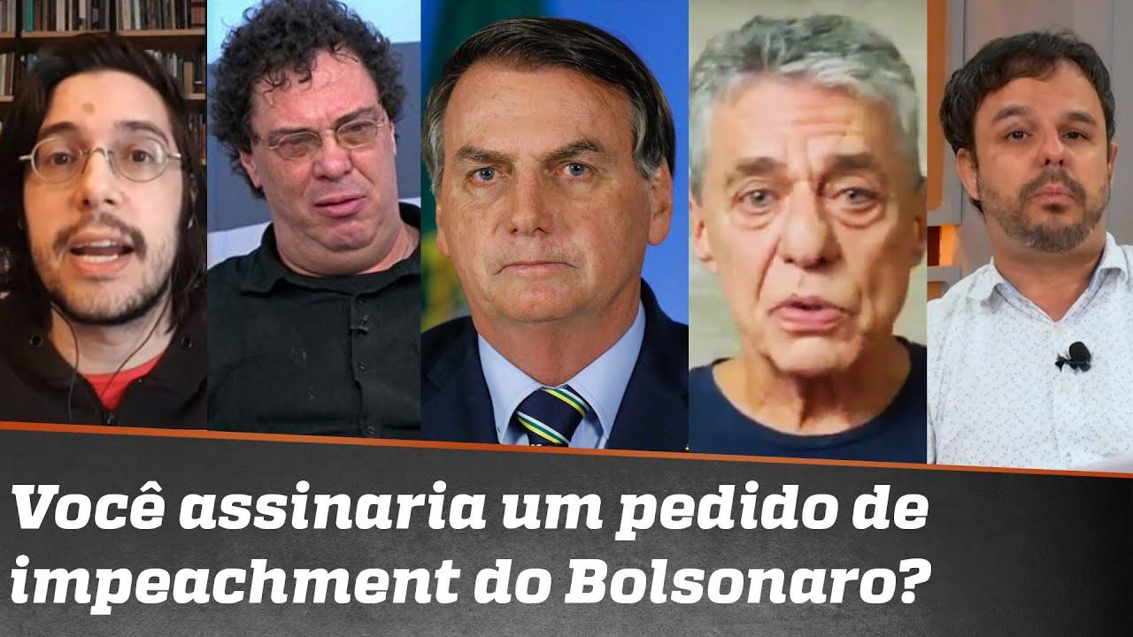 Chico Buarque, Casagrande e outros pedem impeachment de Bolsonaro: Adrilles e Joel divergem