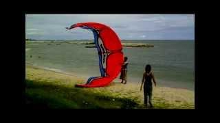 Kiteboarding Suchada Beach Rayong Thailand