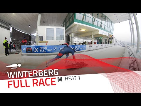 Winterberg | BMW IBSF World Cup 2020/2021 - Men's Skeleton Heat 1 | IBSF Official