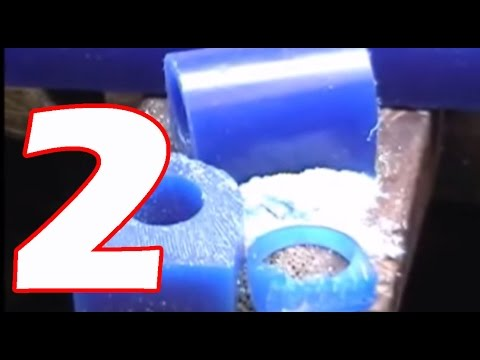 How it's made jewelry wax rings model Part 2