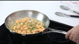 How to Make Twice-Cooked Garlic Shrimp | Mad Delicious Tips | Cooking Light