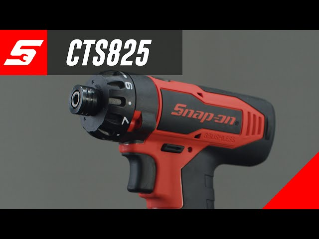 Snap-on CTS825 Brushless 14.4v MicroLithium Screw Gun | Snap-on Tool Tips