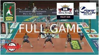 PERUGIA vs MILANO | Superlega Playoffs 1/4 Final | Game 1