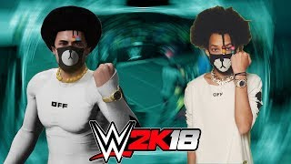 SHMATEO RETURNS!   HOW TO CREATE TEO FROM AYO & TEO IN WWE 2K18!?