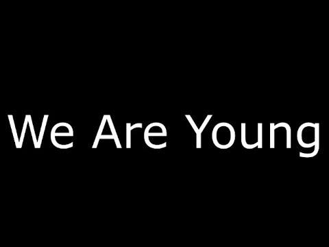 we are young lyrics - 480×360