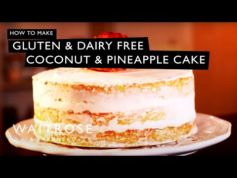 Gluten and Dairy Free Coconut and Pineapple Cake | Waitrose