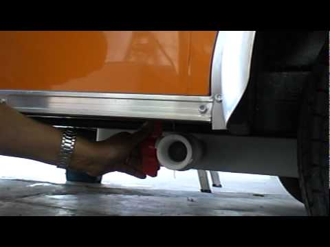 Concession Trailer: Back-Flow Prevention - Fresh Water Tank