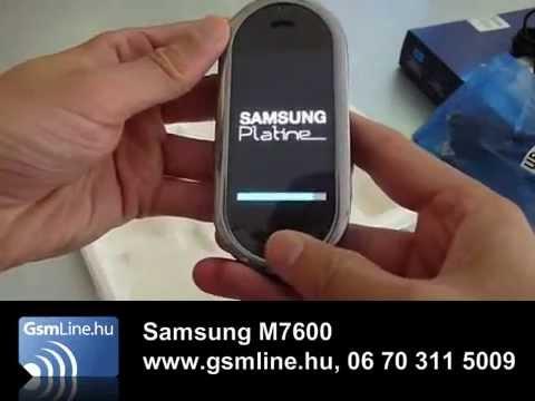 SAMSUNG M7600 (2) GsmLine.hu