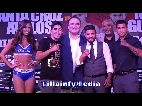 LEO SANTA CRUZ & ABNER MARES DOUBLE HEADER PRESS CONFERENCE - VILLAINFY MEDIA