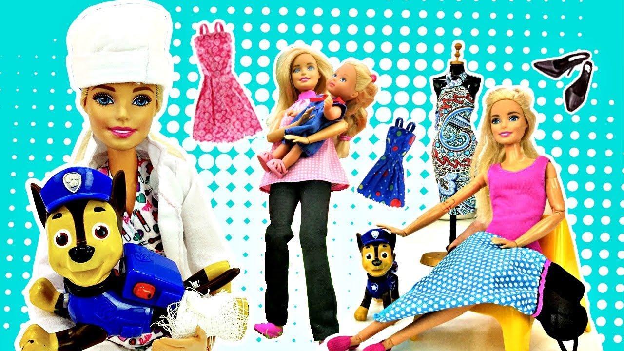 Барби и Штеффи все серии. Видео для девочек - куклы Барби ...