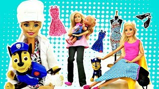 Барби и Штеффи все серии. Видео для девочек - куклы Барби