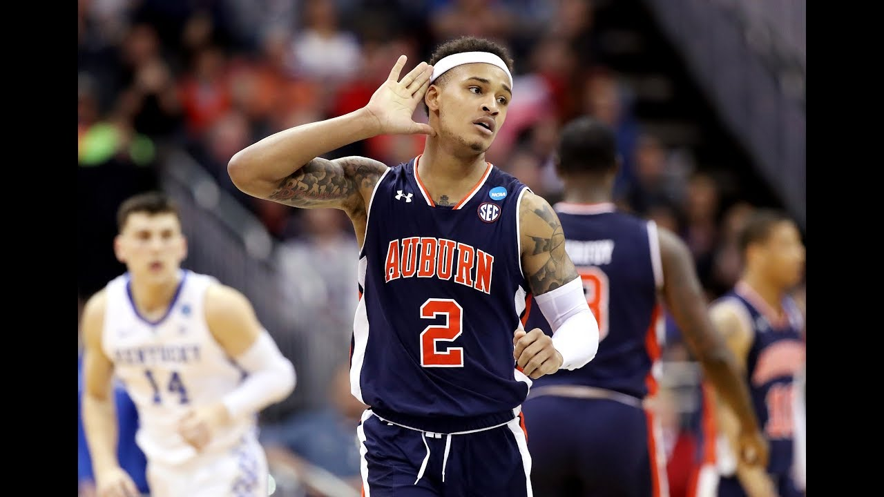 No 5 Auburn Defeats No 2 Kentucky To Reach First Final Four In School History