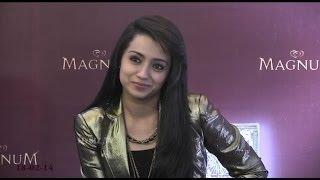 Trisha Latest Video Trisha at Magnum Ice Cream Launch