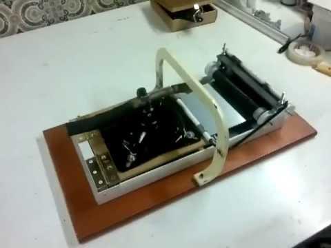 Letterpress flatbed homemade letterpress flatbed casero youtube letterpress flatbed homemade letterpress flatbed casero solutioingenieria Images
