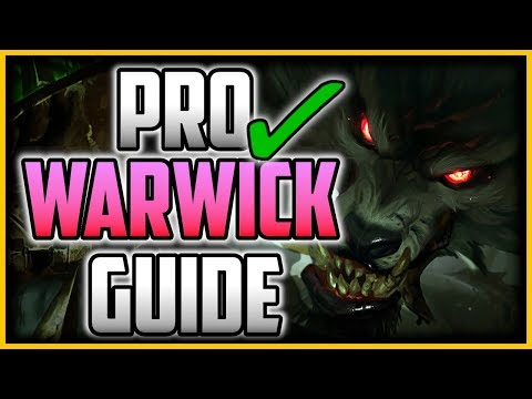 HOW TO PLAY WARWICK LIKE A PRO IN 16 MINUTES - Warwick Jungle Commentary Guide - League of Legends