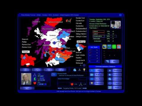 Scotland - United Kingdom 1974 October Election Game (Conservative)