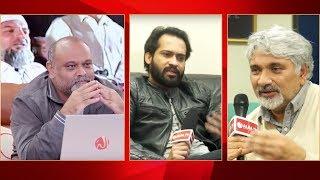 Younus AlGohar With Waqar Zaka & Tahir Aslam Gora