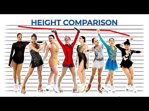 figure-skaters:-height-comparison.-how-tall-are-rika-kihira,-yuna-kim,-alina-zagitova,-midori-ito...