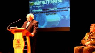 Michael D. Higgins President of Ireland Opening the ITLG Forum Limerick 28 January 2014