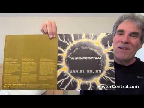 Trips Festival Poster January 1966 Longshoremen