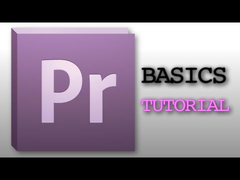Learn The Basics Of Premiere Pro!